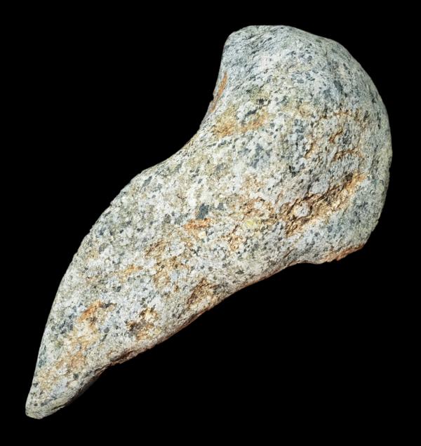 hache rainure bourelet diorite neolithique sahara pierre polie geodes-et-mineraux.fr