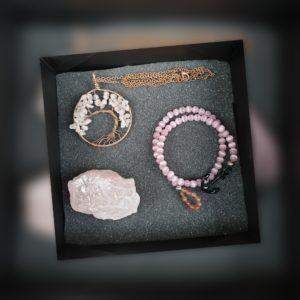 bien-être-quartz-rose-bracelet-collier-amour-ancre-pierre-naturelle-quartz-rose-mineraux-lithotherapie-soins