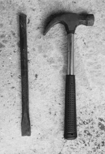 marteau-burin-ouvrir-geode-fermee-casser-comment-technique-achat