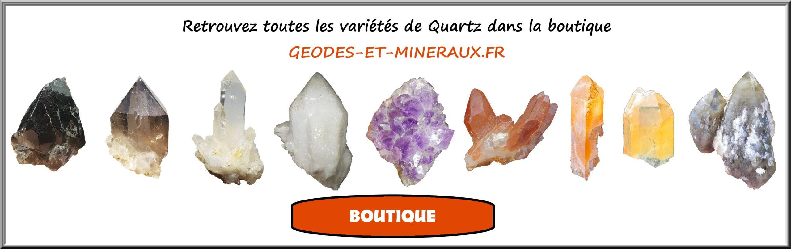 Boutique Vente Minéraux Quartz Améthyste Citrine Cristal de Roche